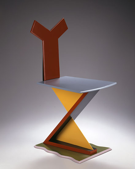 Rietveld Zig Zag Variation 14 - XYZ Chair by Garry Knox Bennett