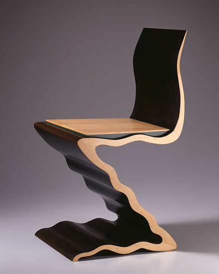 Rietveld Zig Zag Variation 7: Chair 788 by Garry Knox Bennett