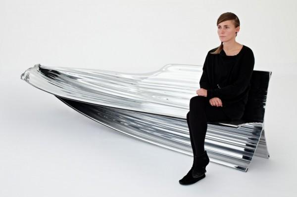 Extruded Bench by Thomas Heatherwick