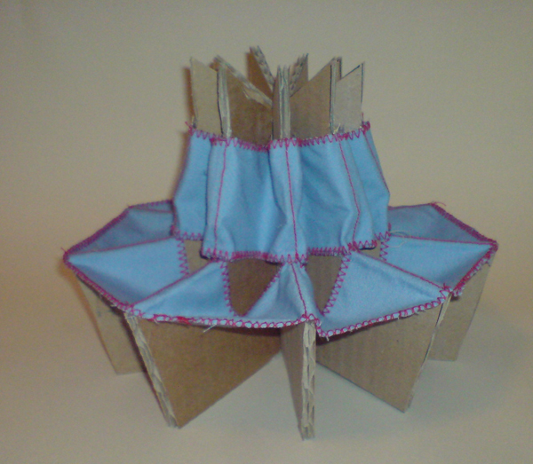 The Folding Cardboard Chair By Kaya