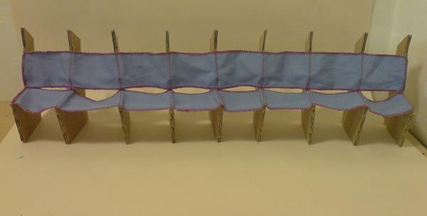 foldable cardboard furniture. the folding cardboard chair by kaya foldable furniture