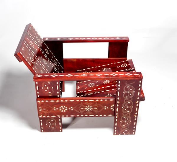 Groovy Rietveld Medina Crate Chair Variation By David Van Der Veldt Download Free Architecture Designs Scobabritishbridgeorg