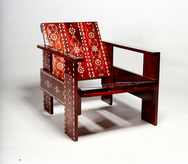 Rietveld Medina Crate Chair Variation By David Van Der Veldt