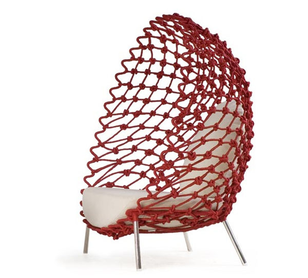 Dragnet Chair by Kenneth Cobonpue