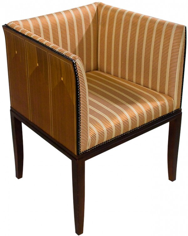 Armchair by eliel saarinen for Eliel saarinen furniture