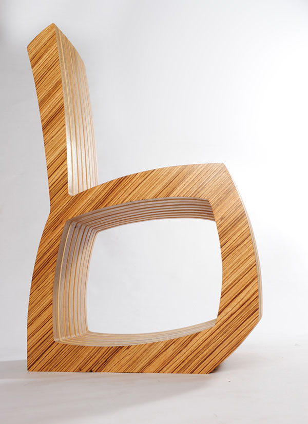 Thougtwood Chair by Rob Davies 2