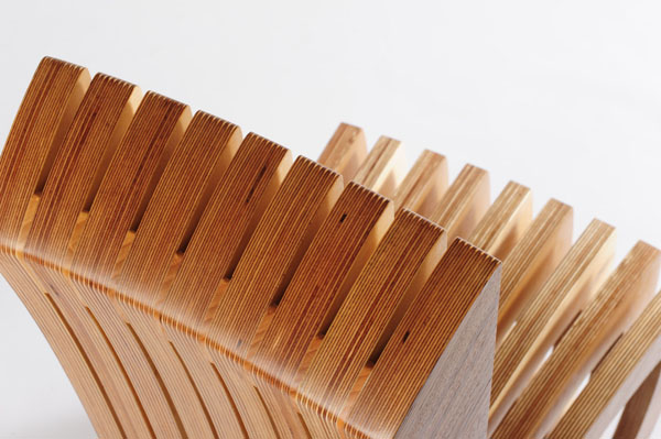 Thougtwood Chair by Rob Davies