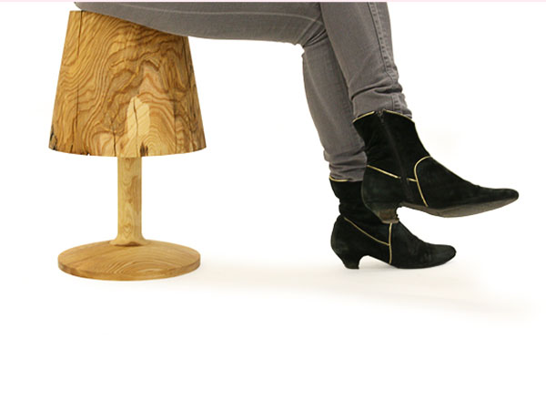 ina L Stool by Florian Kallus