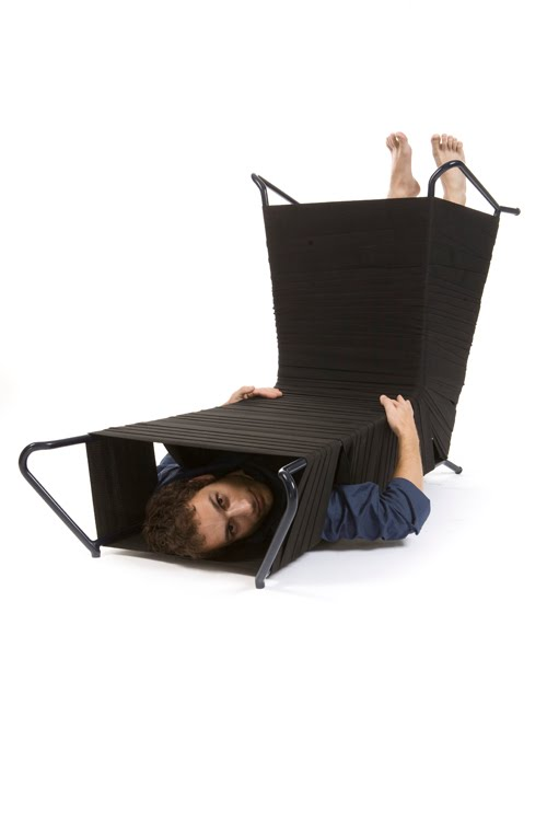 Tunnel Chair by Noga Berman 2