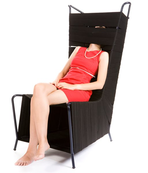 Tunnel Chair by Noga Berman