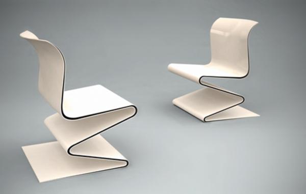 W Chair by Sebastian Gronmeyer