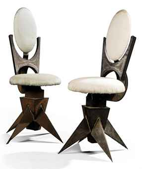 Welded Swivel Chairs By Tom Dixon