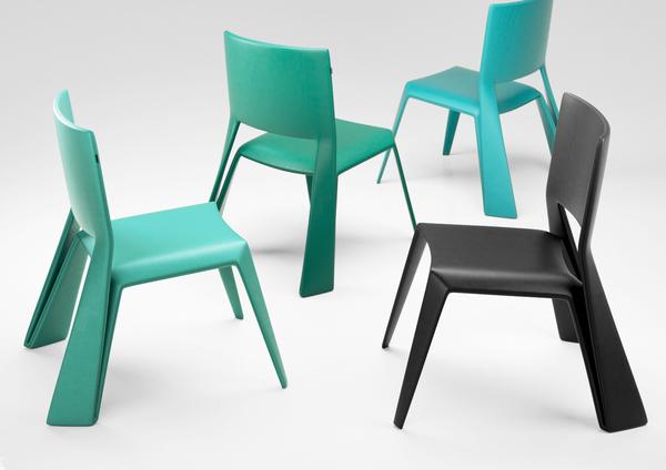 Green Origami Chair by Vasiliy Butenko