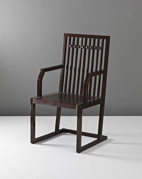 Armchair by Josef Hoffmann