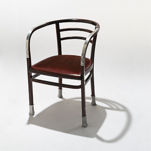 Armchair by Otto Wagner for the Vienna Postsparkasse