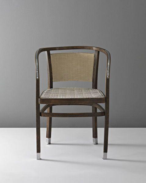 Die Zeit Armchair by Otto Wagner