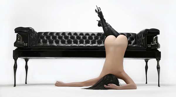 Heretic - Coffin Couch by Autum Chairchez La Femme