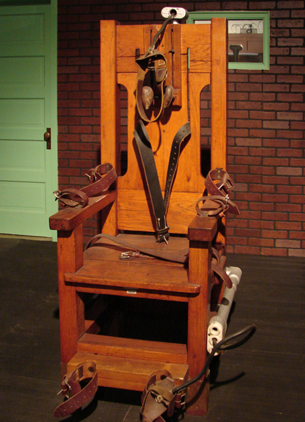 Old Sparky - Photo by Kayt Sukel
