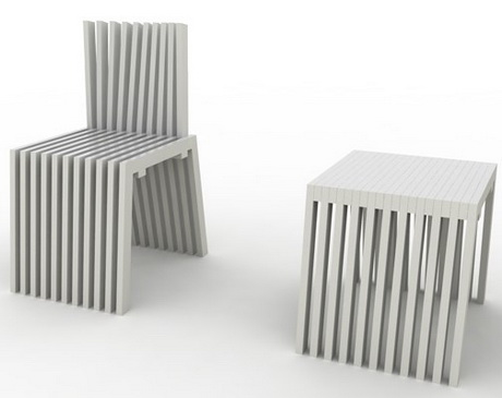 Stand Up Stool - Chair by Phillip Don