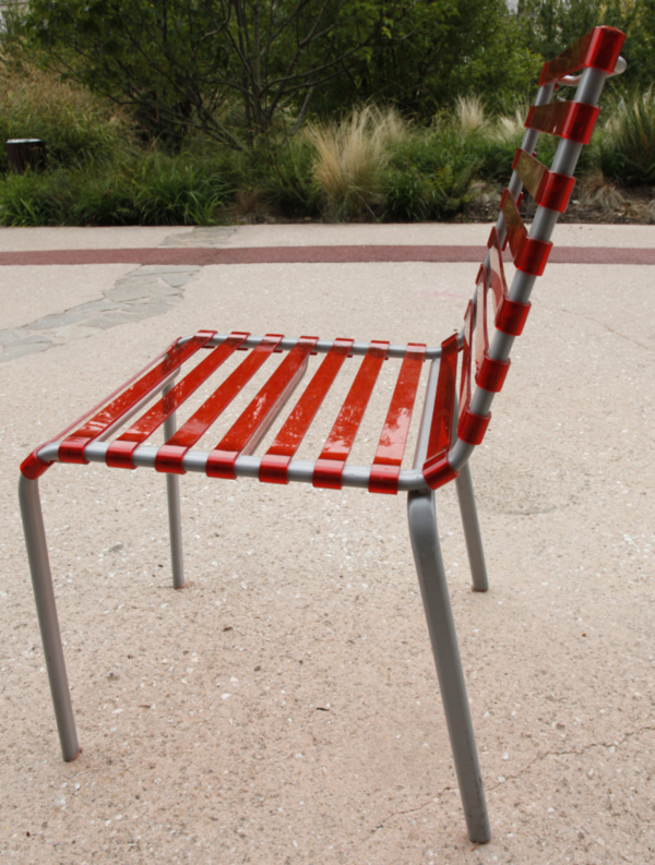 Striped Chair by The Bourroullecs