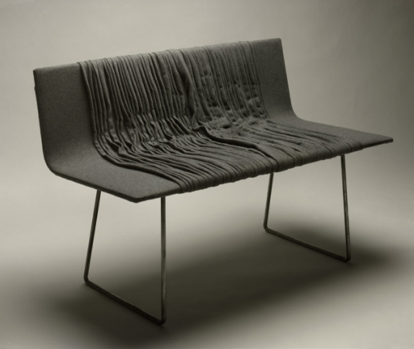 25 Bench by Omer Arbel for Bocci