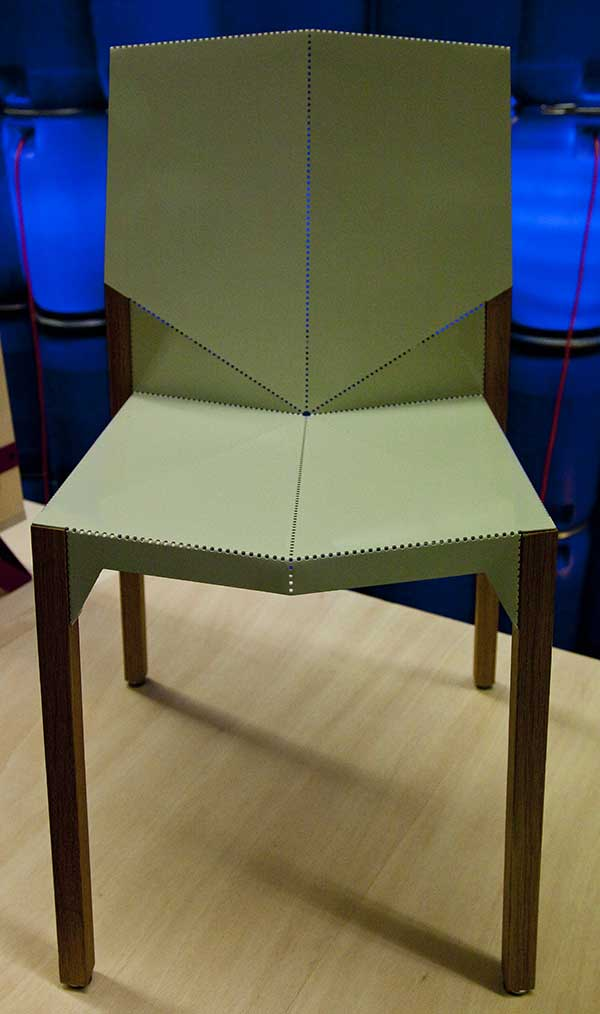 Alpha Chair by Dustin Jessen