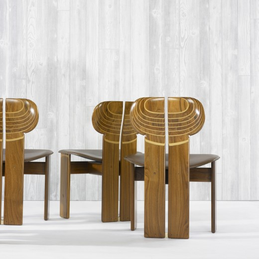 Artona Chairs by Afra and Tobia Scarpa Detail