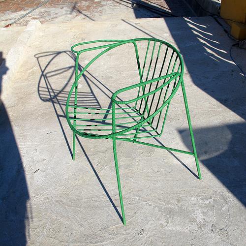 Cuban Rebar Chairs