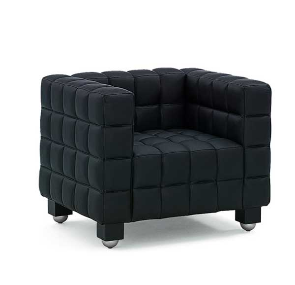 Kubus or Cube Armchair by Josef Hoffmann