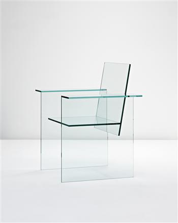 Glass Chair by Shiro Kuramata