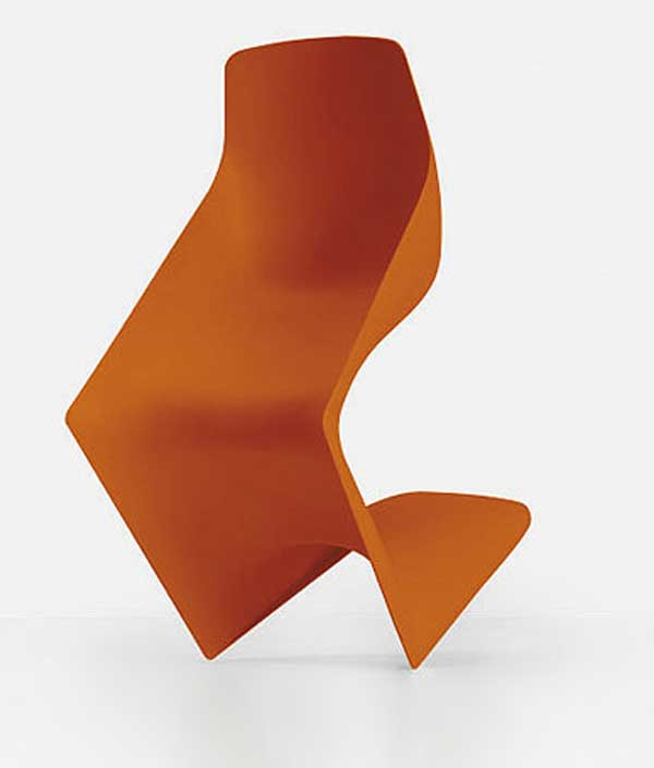 Pulp Chair by Christophe Pillet Orange