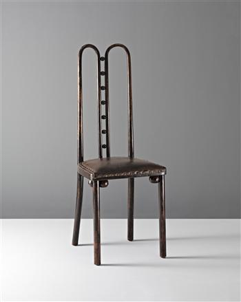 Sieben Kugel or 7 balls Chair by Josef Hoffmann
