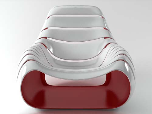 Snug Chair by Dennis Abalos