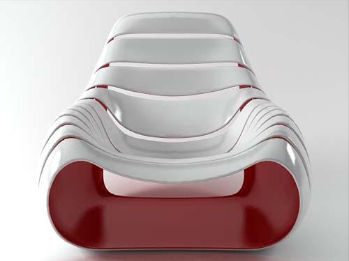 Snug Chair by Dennis Abalos
