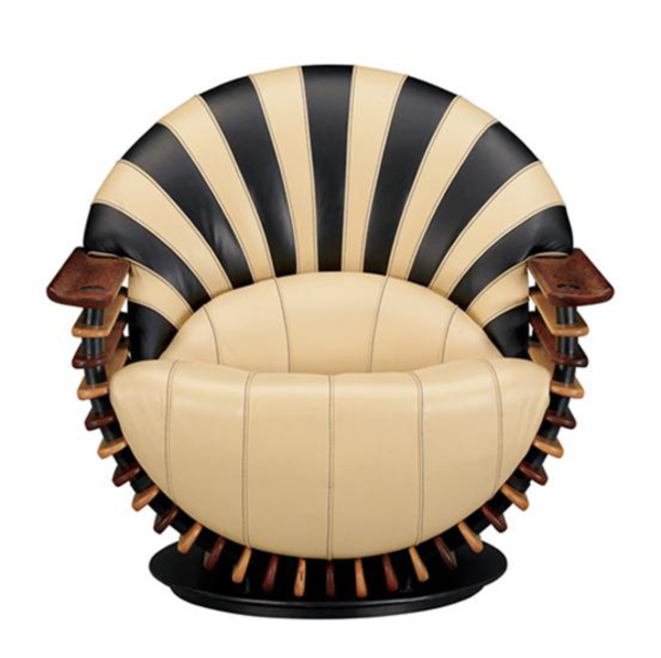 Luxurious Modern Lounge Chair