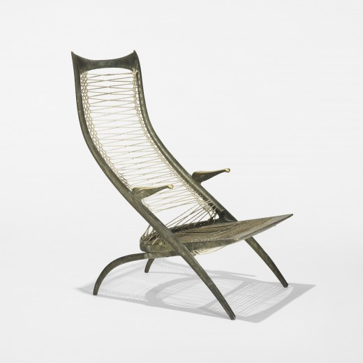 Gazelle High Back Lounge Chair Model 50B by Dan Johnson
