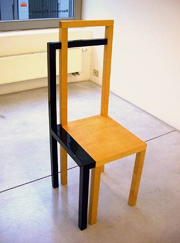 Robert Wilson Chair with a Shadow