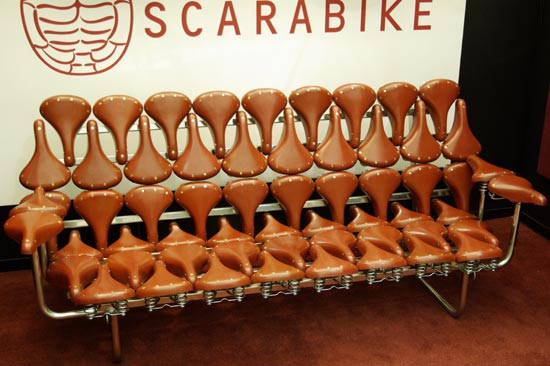 Scarabike Bicycle Saddle Bench