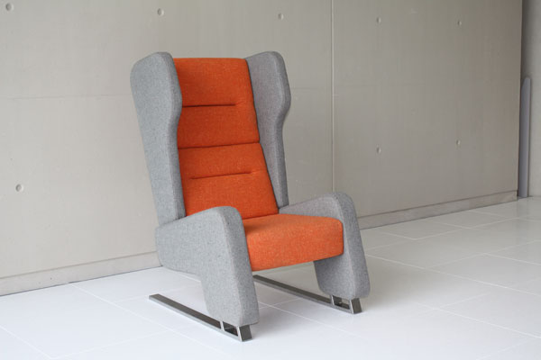 The Whisper Wingback Chair by Phil Cater