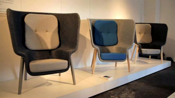 Pod Chair by Benjamin Hubert for De Vorm - Milan 2011 (14)