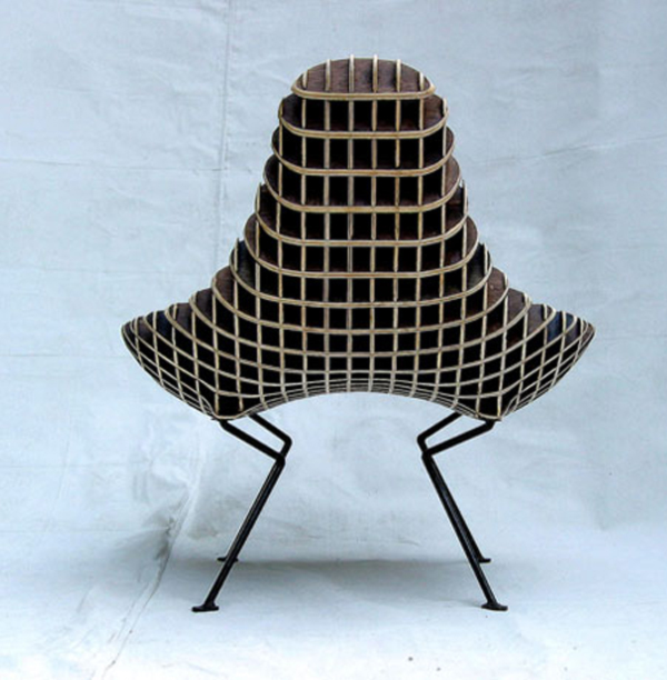 Bantam Chair by Ryan Dart Back