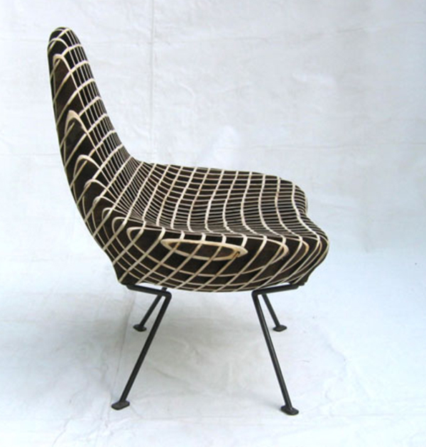 Bantam Chair by Ryan Dart Side