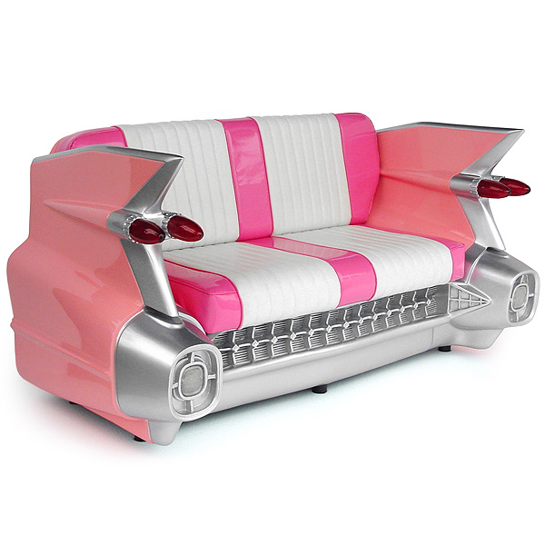 Pink Cadillac Sofa