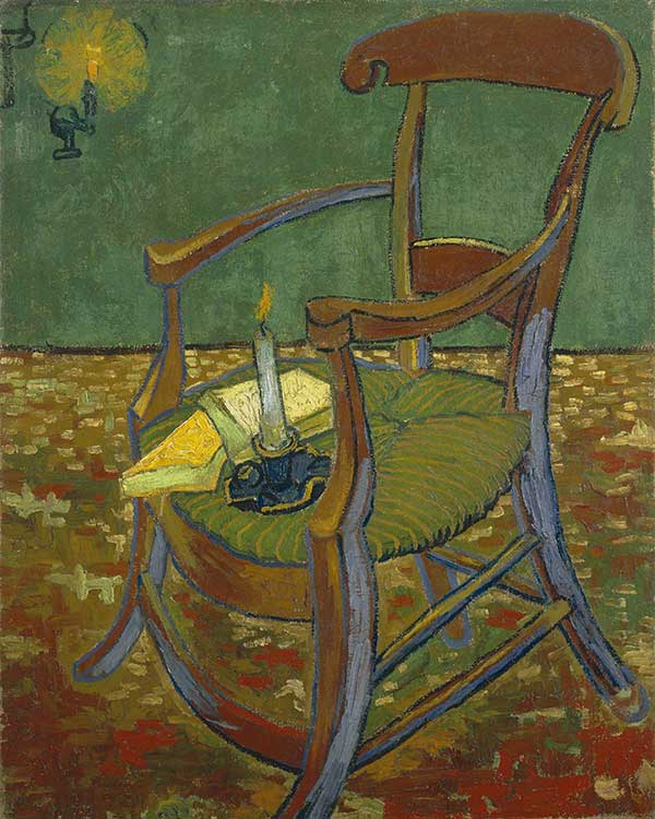 Gaugin Style Chair by Vincent van Gogh