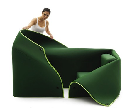 Sosia Convertible Sofa by Emanuele Magini 1