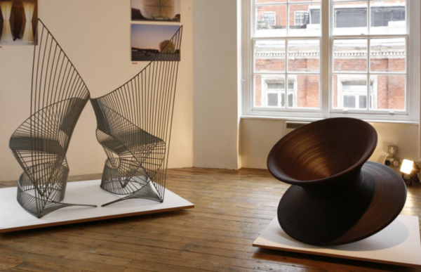 Thomas Heatherwick at Aram Gallery's Then Now Show