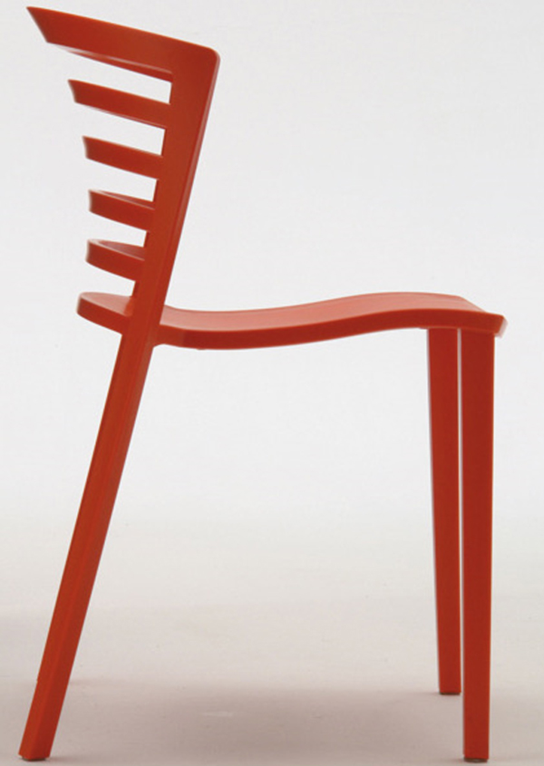 Venezia Chair by Paolo Favaretto Side