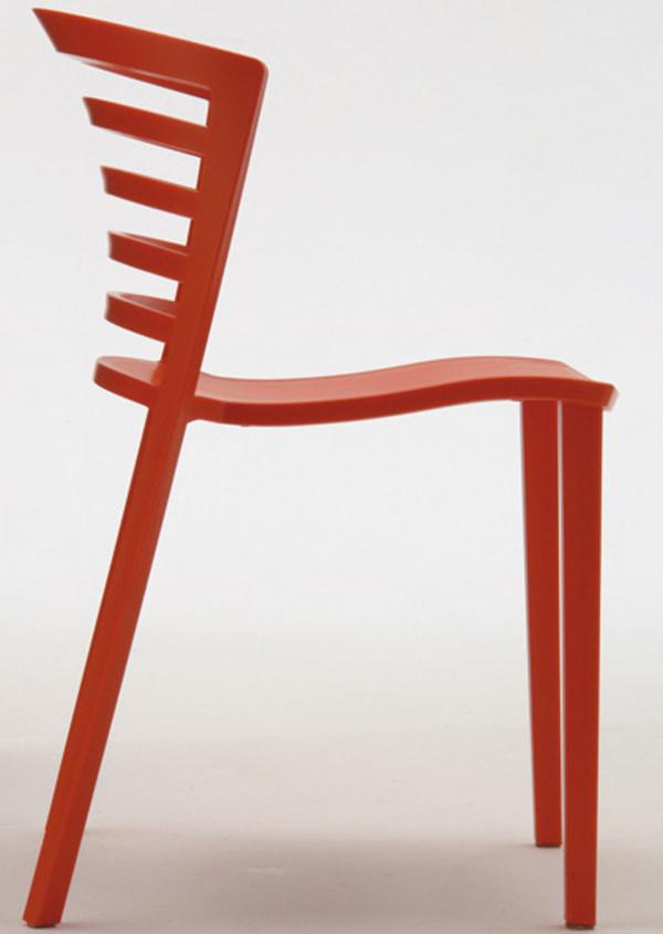 Venezia Chair by Paolo Favaretto Side