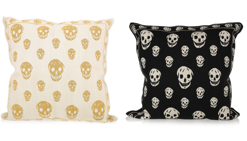 Skull Cushions By Alexander Mcqueen For The Rug Company