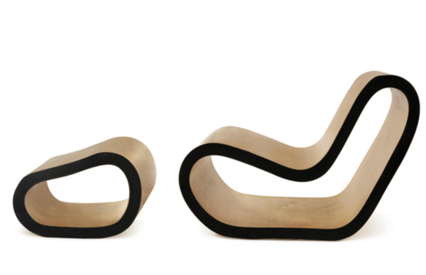 Flexible Sandwich Chaise by François Azambourg